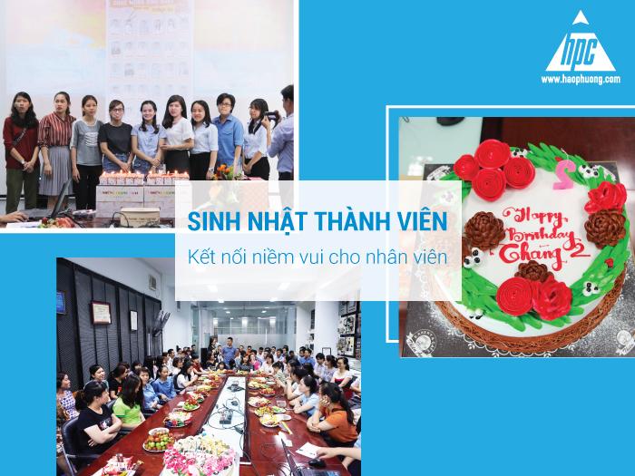 Sinh nhật thành viên - Kết nối niềm vui cho nhân viên