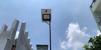 Sự phổ biến của đèn năng lượng mặt trời