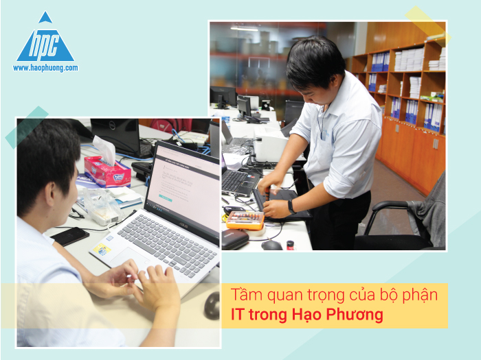Tầm quan trọng của bộ phận IT trong Hạo Phương