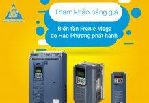 Tham khảo bảng giá biến tần Frenic Mega do Hạo Phương phát hành