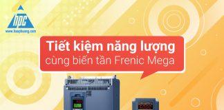 Tiết kiệm năng lượng cùng biến tần Frenic Mega