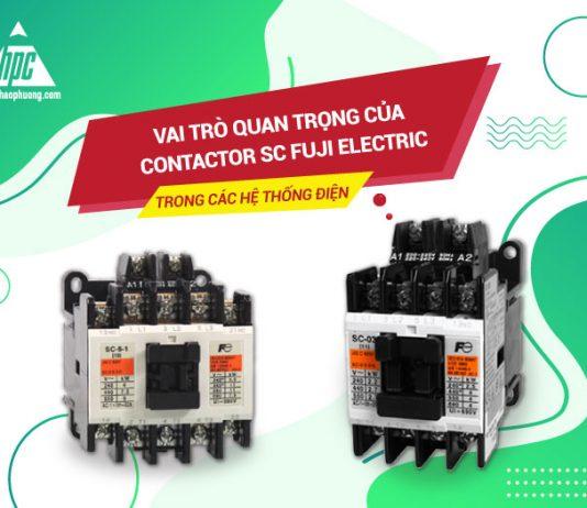 Vai trò quan trọng của Fuji Electric