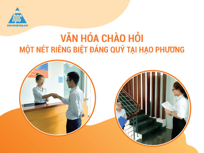 Văn hóa chào hỏi ở Hạo Phương