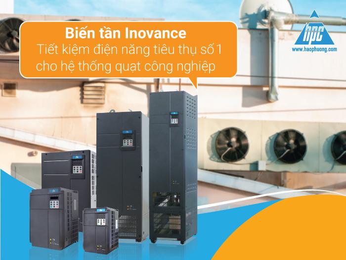 Biến tần Inovance cho hệ thống quạt công nghiệp