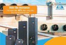 Biến tần Inovance giảm thiểu đáng kể năng lượng tiêu thụ điện năng cho quạt công nghiệp