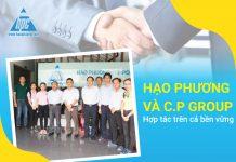 Hạo Phương và C.P group - Hợp tác trên cả bền vững