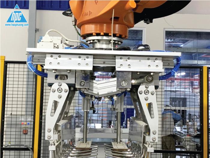 Hệ thống robot của Hạo Phương đạt công suất cao