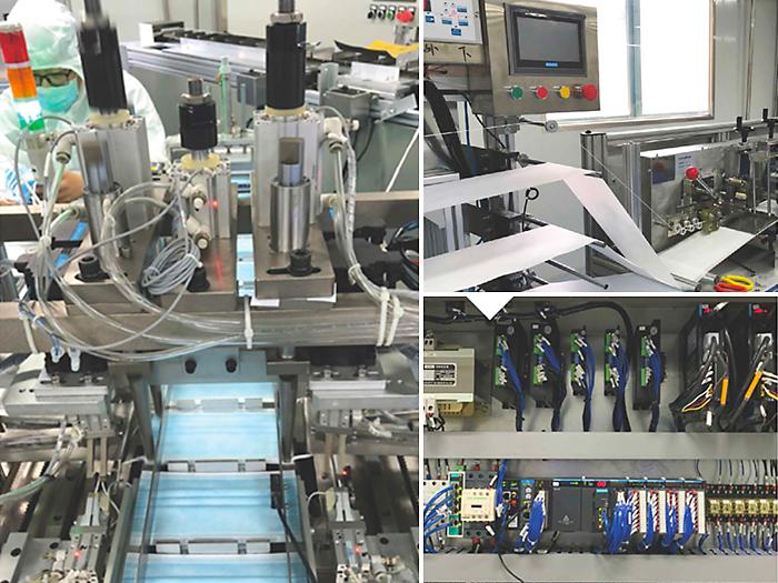 Inovance mang lại trải nghiệm tự động hóa toàn diện trong sản xuất khẩu trang