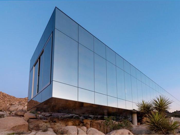 Invisible House ngôi nhà sử dụng năng lượng mặt trời ở Mỹ