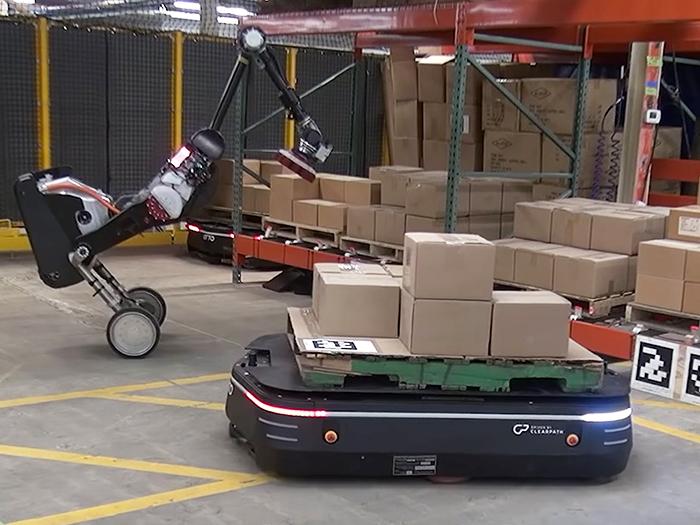 Robot Handle – Giải pháp tự động hóa thông minh trong kho hàng tương lai