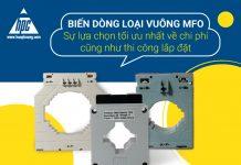 Biến dòng loại vuông MFO giúp tối ưu chi phí cũng như thi công lắp đặt
