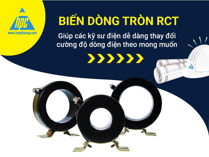 Biến dòng tròn RCT dễ dàng thay đổi cường độ dòng điện theo mong muốn