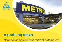 Đại siêu thị Metro – Mang dấu ấn thời gian, minh chứng cho sự sáng tạo trong mọi hoạt động của Hạo Phương