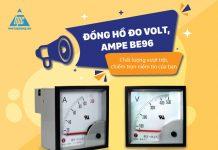 Đồng hồ đo Volt, Ampe BE96 - Chất lượng vượt trội, chiếm trọn niềm tin của bạn