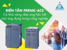 Biến tần Frenic-ACE có khả năng đáp ứng hầu hết mọi ứng dụng trong công nghiệp