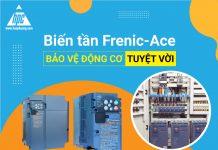 Biến tần Frenic-ACE giúp bảo vệ động cơ tuyệt vời