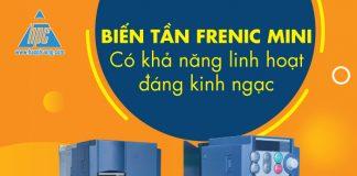 Biến tần Frenic Mini có khả năng linh hoạt cao