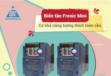 Biến tần Frenic Mini có khả năng tương thích toàn cầu