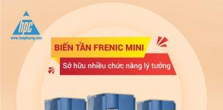 Biến tần Frenic Mini có nhiều chức năng lý tưởng