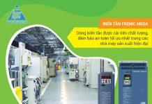 Chất lượng biến tần Frenic Mega - Lời giải cho bài toán an toàn trong các nhà máy sản xuất hiện đại