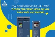 Trải nghiệm chất lượng tuyệt vời của biến tần Frenic Mega tại Hạo Phương - Nhà phân phối chính thức của Fuji Electric