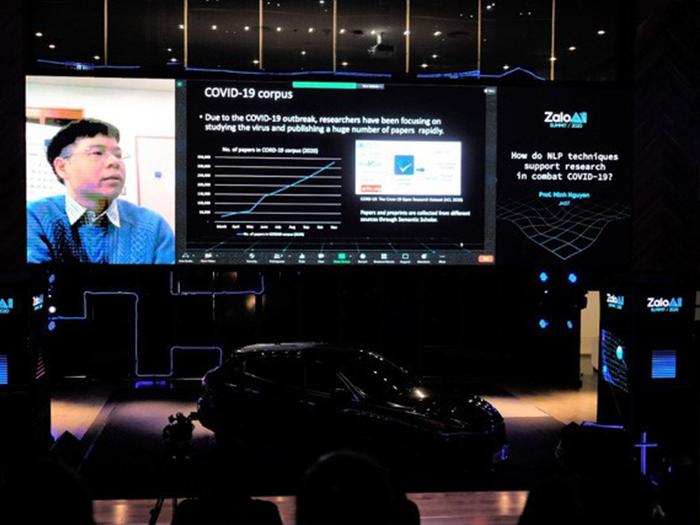 Giáo sư Nguyễn Lê Minh chia sẻ tại Zalo AI Summit 2020