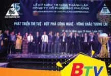"""Bản tin kinh tế BTV đưa tin về sự kiện """"Hạo Phương kỷ niệm 15 năm thành lập và phát triển"""""""