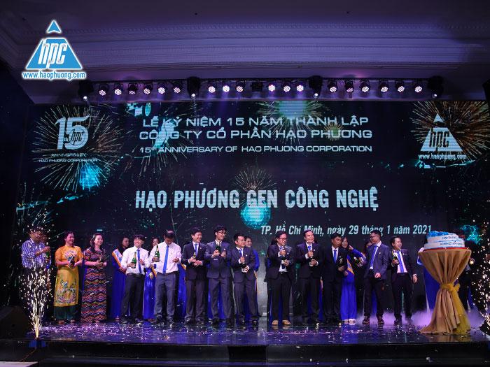 Lễ kỷ niệm 15 năm thành lập của công ty cổ phần Hạo Phương