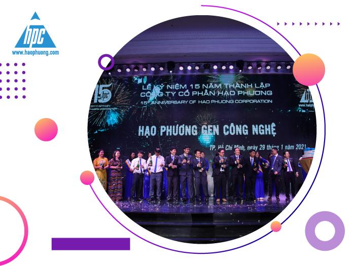 Đan Trường góp mặt tại tiệc tri ân 15 năm thành lập công ty Hạo Phương