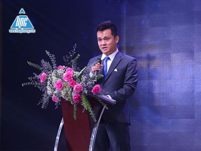 Ông Nguyễn Tất Dương, tổng giám đốc công ty cổ phần Hạo Phương tại sự kiện