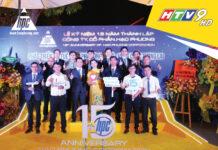 """Truyền hình HTV9 đưa tin về sự kiện """"Kỷ niệm 15 năm thành lập và phát triển"""" của công ty Cổ phần Hạo Phương"""