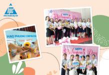 Hạo Phương chúc mừng ngày Quốc tế phụ nữ 8/3/2021