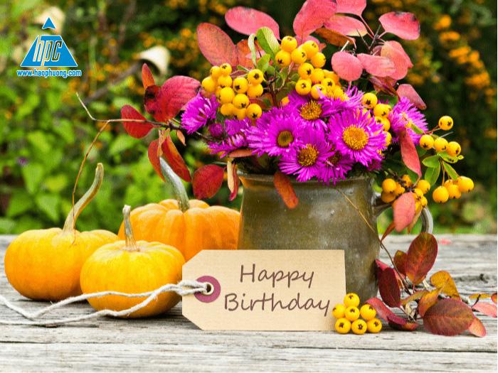 Hạo Phương chúc mừng sinh nhật các thành viên tháng 4/2021