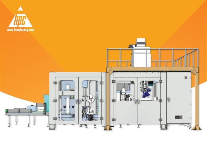 Hệ thống đóng bao 2 lớp tự động OMBA - Giải pháp giảm thiểu nhân lực trong khâu đóng bao tại nhà máy