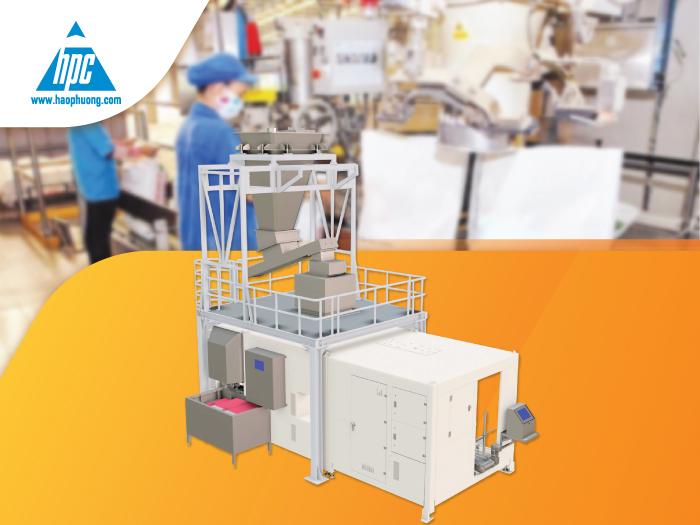 Vì sao nên sử dụng robot đóng bao tự động OMBA trong ngành sản xuất thức ăn chăn nuôi?