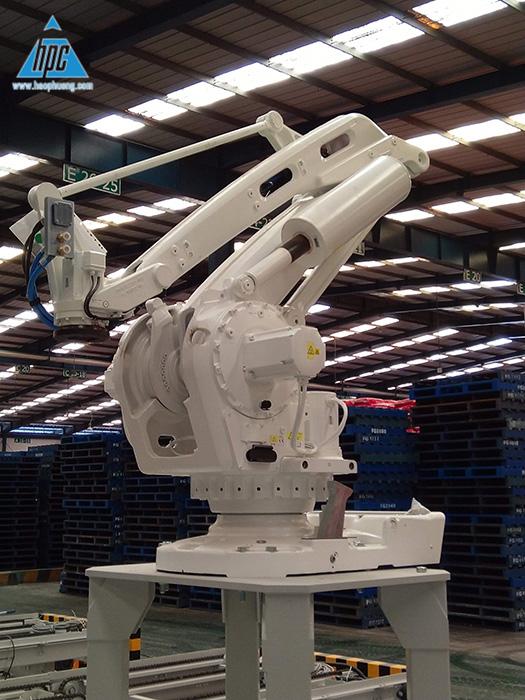 Cấu hình hệ thống Robotic Palletizer
