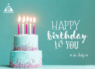 Chúc mừng sinh nhật các thành viên Hạo Phương tháng 07/2021