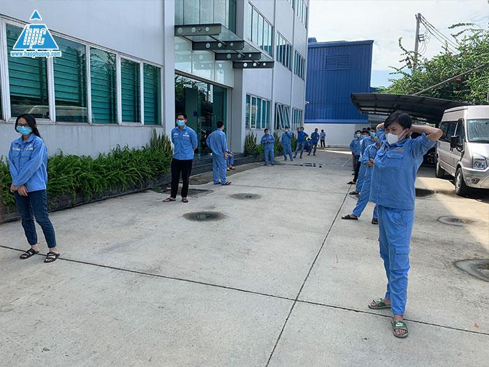 Hạo Phương tăng cường công tác phòng chống dịch bệnh bằng việc test xét nghiệm nhanh Covid-19