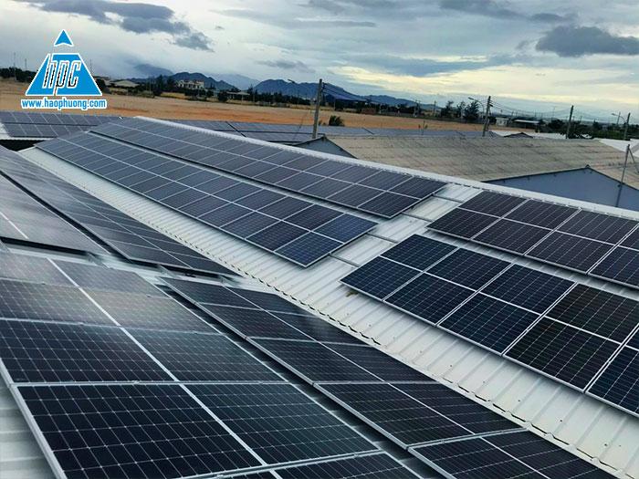 Hạo Phương hoàn thành dự án lắp đặt điện mặt trời tại trại tôm giống Ninh Thuận