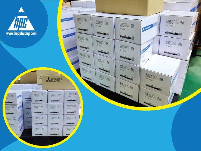 Hạo Phương xuất kho lô hàng Fuji Electric và Mitsubishi đến khách hàng tại Thái Lan