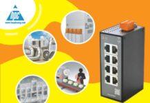 Giới thiệu sản phẩm mới của IDEC: Bộ chuyển mạch Ethernet 8 cổng dòng SX5E