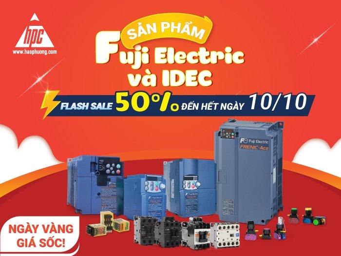 Hạo Phương khởi động chương trình Flash sale 50% các sản phẩm của Fuji Electric và IDEC đến hết ngày 10/10