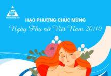Hạo Phương chúc mừng ngày Phụ nữ Việt Nam 20/10