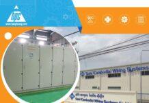 Hạo Phương cung cấp lô tủ điện hoàn hảo cho nhà máy SCWS – Sumi tại Cambodia