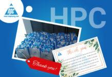Hạo Phương trao tấm lòng, gửi quà tặng đến những chiến binh 3T
